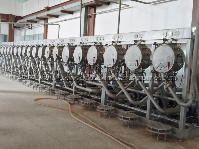 potato starch processing machine