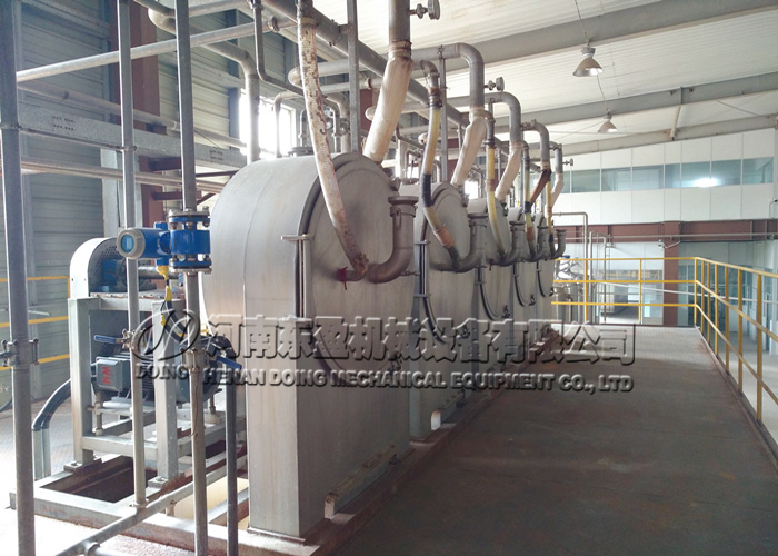 centrifuge sieve machine in sweet potato starch machine