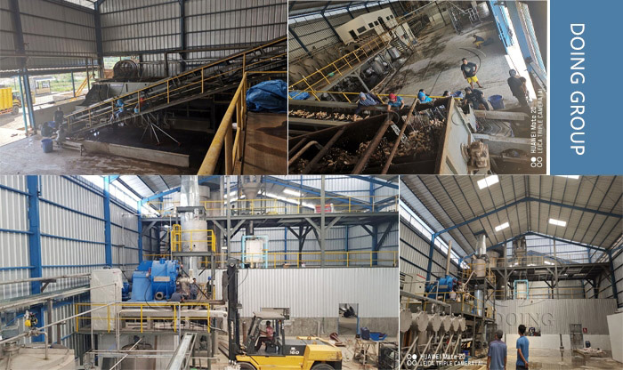 tapioca starch processing plant project