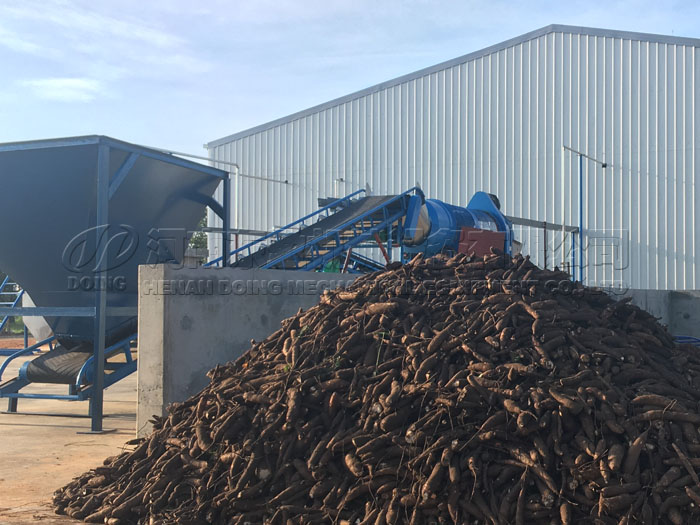 How much is cassava processing machine?