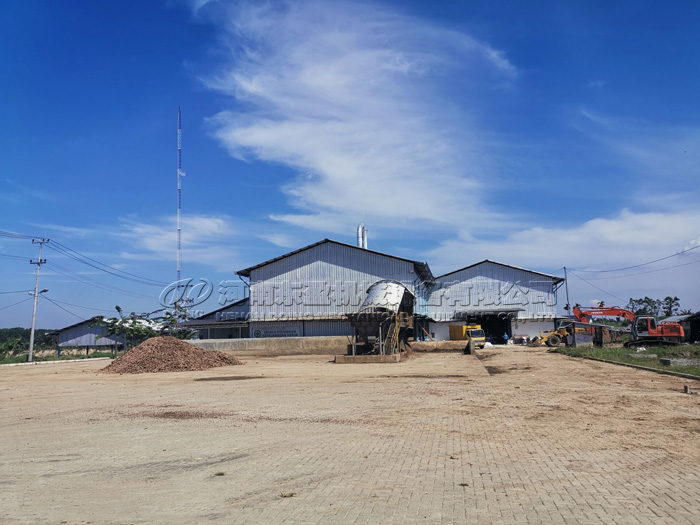 12TPH tapioca starch processing plant project was installed in Indonesia