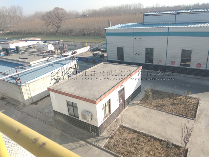 30TPH potato starch processing plant project in Henan, China