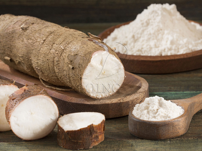 The current status and development trends of cassava starch production in Ghana