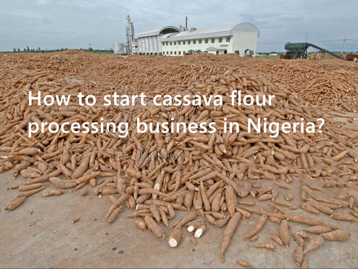 How to start cassava flour processing business in Nigeria?