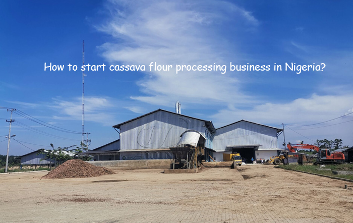 how to start cassava flour processing business in Nigeria