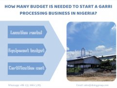 How many budget is needed to start a garri processing business in Nigeria?