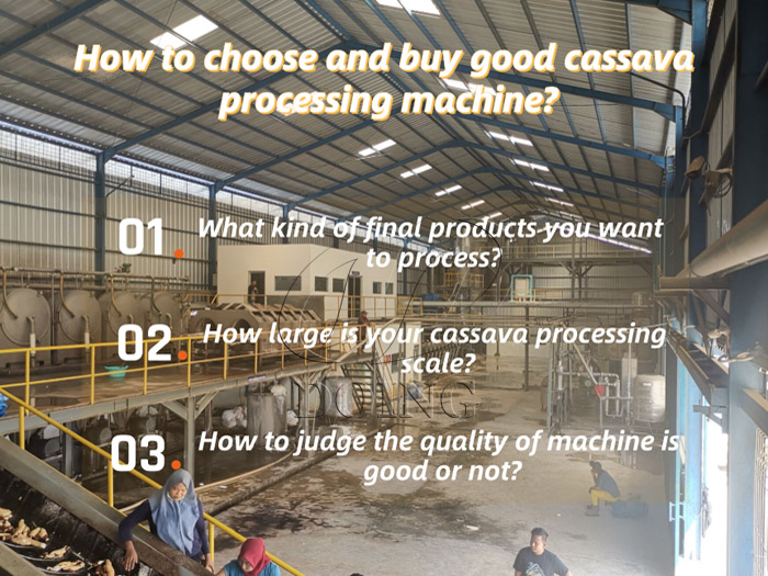 How to choose and buy good cassava processing machine?