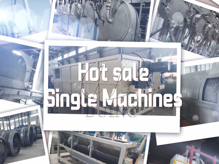 Single machines for cassava processing in Doing Holdings - Henan Jinrui