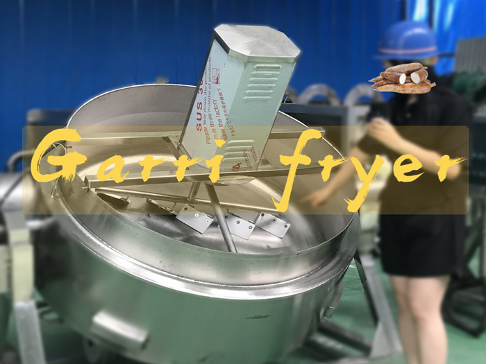 The introduction of garri frying machine in nigeria for garri production