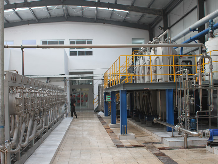 What tapioca starch processing equipment is used for cassava starch processing business?
