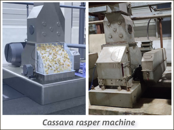 What is cassava rasper machine?