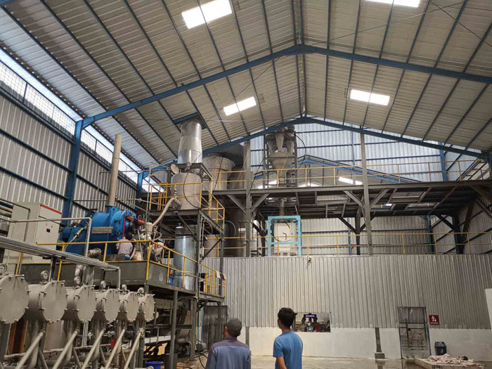 How to set up the manufacturing plant of starch?